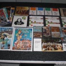 Música de colección: LOTE DIVERSOS ARTÍCULOS CARNAVAL DE CÁDIZ (VER CONTENIDO). Lote 295289233