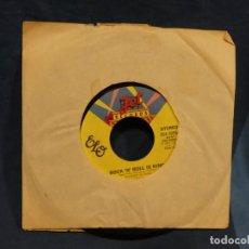 Música de colección: BOXX129 DISCO 7 PULGADAS USA ESTADO DECENTE ELO AFTER ALL / ROCK N ROLL IS KING. Lote 295475633