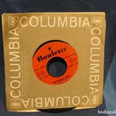 Música de colección: BOXX129 DISCO 7 PULGADAS USA ESTADO DECENTE HUGO & LUIGI ROCKABILLY PARTY / SHENANDOAH ROSE. Lote 295475933