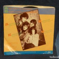 Música de colección: BOXX129 DISCO 7 PULGADAS USA ESTADO DECENTE KATRINA & THE WAVES WALKING ON SUNSHINE / GOING DOWN TO-. Lote 295476958