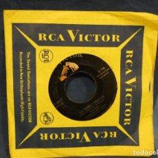 Música de colección: BOXX129 DISCO 7 PULGADAS USA ESTADO DECENTE PERRY COMO THE THINGS I DIDN'T DO / PAPA LOVES MAMBO. Lote 295478223
