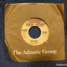 Música de colección: BOXX129 DISCO 7 PULGADAS USA ESTADO DECENTE VILLAGE PEOPLE MACHO MAN / KEY WEST. Lote 295506763