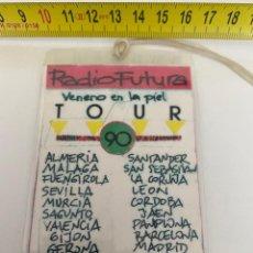 Música de colección: BACKSTAGE 1990 RADIO FUTURA, VER FOTOS (3,92 ENVÍO CERTIFICADO). Lote 295509038