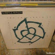 Música de colección: CAJJ151 MAXI SINGLE MUSICA ELECTRONICA SIMPLE MINDS THE ANSTERDAM EP BUEN ESTADO. Lote 295587158