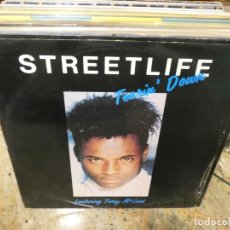 Música de colección: CAJJ151 MAXI SINGLE MUSICA ELECTRONICA STREETLIFE FEAT TERRY MC LEAD TEARING DOWN LEVE USO ACEPTABLE. Lote 295588583