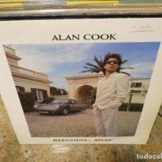 Música de colección: CAJJ151 MAXI SINGLE MUSICA ELECTRONICA ALAN COOK RUNNING AWAY EN ZYX. Lote 295588833