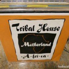 Música de colección: CAJJ151 MAXI SINGLE MUSICA ELECTRONICA TRIBALHOUSE MOTHERLAND AFRICA. Lote 295588928