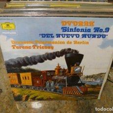 Música de colección: CAJJ151 LP MUSICA CLASICA ANTON DVORAK SINFONIA NUEVO MUNDO DEUTSCHE GRAMOPHON FRICSAY. Lote 295591318