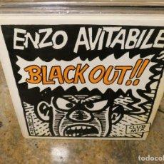 Música de colección: CAJJ151 MAXI SINGLE ELECTRONICA ENZO AVITABLE BLACK OUT. Lote 295591818