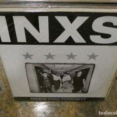 Música de colección: CAJJ151 MAXI SINGLE INXS NEED YOU TONIGHT ESTADO GENERAL CORRECTO. Lote 295592368