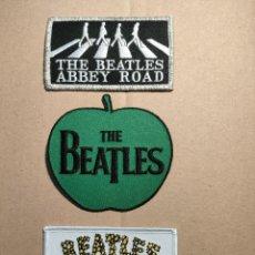 Música de colección: 3 PARCHES THE BEATLES. Lote 297243333