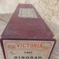 Música de colección: ROLLO PIANOLA MARCA VICTORIA 1467. DINORAH. MEYERBEER.. Lote 297257008