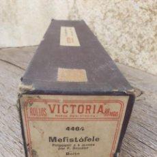 Música de colección: ROLLO PIANOLA MARCA VICTORIA 4464. MEFISTOFELE. BOITO.. Lote 297257233