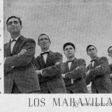 Fotos de Cantantes: POSTAL ORIGNAL GRUPO LOS MARAVILLAS. Lote 4625485