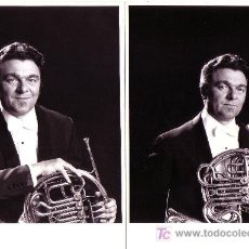 Fotos de Cantantes: HERMANN BAUMANN. FOTO: SUSESCH BAYAT. 2 FOTOGRAFIAS DEL MÚSICO.. Lote 10225360