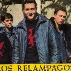 Fotos de Cantantes: POSTAL GRUPO MUSICAL LOS RELAMPAGOS. Lote 7448285