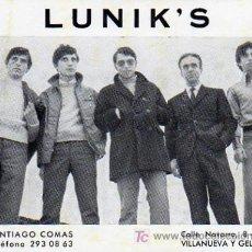 Fotos de Cantantes: GRUPOS MUSICAL LUNIK'S. Lote 7448345