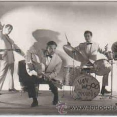 Fotos de Cantantes: CONJUNTO MUSICAL DE VAN WOOD, AUTOGRAFIADA. Lote 8544884