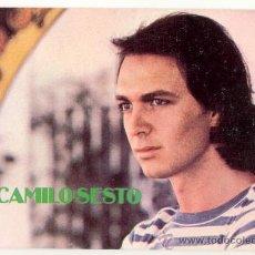 Fotos de Cantantes: CAMILO SESTO POSTAL ORIGINAL DE LOS AÑOS 70. Lote 26279648