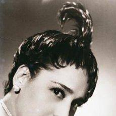 Fotos de Cantantes: CLICHE ORIGINAL - CELIA GAMEZ, NEGATIVO EN CELULOIDE - EDICIONES ARRIBAS. Lote 10116606