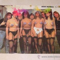 Fotos de Cantantes: POSTER DE IRON MAIDEN - POPULAR 1. Lote 27616094