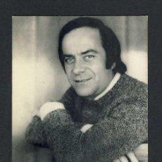 Fotos de Cantantes: FOTO PUBLICITARIA DE JOSE GUARDIOLA CON DEDICATORIA AUTOGRAFA AL DORSO (OLYMPO). Lote 11827555