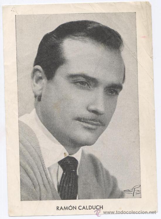 CANTANTE *RAMON CALDUCH* - AÑO 1960 - REVISTA FLORITA (Música - Fotos y Postales de Cantantes)