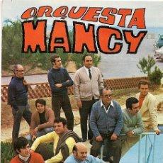 Fotos de Cantantes: POSTAL GRUPO MUSICAL ORQUESTA MANCY AÑOS 60.. Lote 27009674