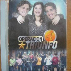Fotos de Cantantes: OPERACION TRIUNFO. 1ª EDICION. ALBUM DE 144 CROMOS. INCOMPLETO. Lote 17296720