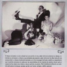 Fotos de Cantantes: TARJETA POSTAL PUBLICITARIA. GRUPO PETIT COMITE BARCELONA. . Lote 21364202