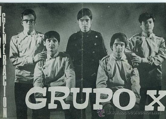 GRUPO X . CONJUNTO MUSICAL . AÑOS 60 - 70 . (Música - Fotos y Postales de Cantantes)