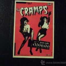 Foto di Cantanti: POSTAL CARD - THE CRAMPS. Lote 36138642