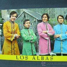 Fotos de Cantantes: TARJETA POSTAL - LOS ALBAS - FOTOGRAFIA: MERIDIANO - . Lote 23833443