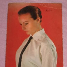 Fotos de Cantantes: QUEX - POSTALES CANTANTES GRUPOS - POSTAL ROCIO DURCAL 1965. Lote 25200089