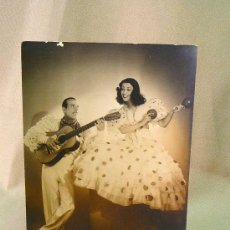 Fotos de Cantantes: FOTO , FOTOGRAFIA, ARTISTAS, LOS VAZQUEZ, FOTO PAUL KORUNA, PARIS, 22 X 16 CM. Lote 25786525