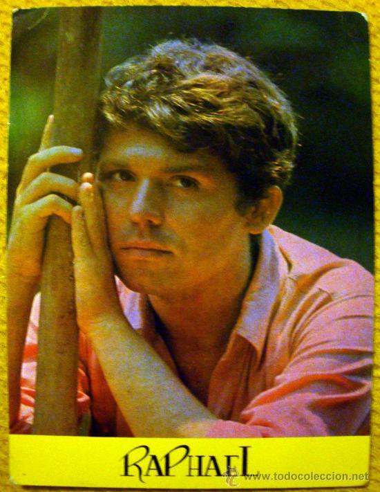 FOTO POSTAL DE RAPHAEL COLECCIÓN BERGAS Nº 796 (Música - Fotos y Postales de Cantantes)