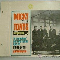 Fotos de Cantantes: MICKY Y LOS TONYS.157. Lote 28798882