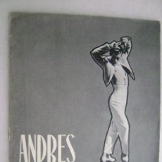 Fotos de Cantantes: ANDRES MONTEMAR .219. Lote 28803022