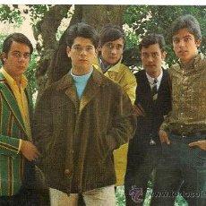 Fotos de Cantantes: POSTAL GRUPO MUSICAL LOS GOGO AÑOS 60 . Lote 29380880