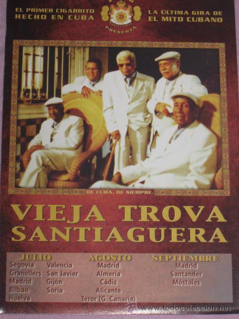 QUEX POSTALES MUSICA CANTANTES GRUPOS MUSICALES - POSTAL VIEJA TROBA SANTIAGUERA (Música - Fotos y Postales de Cantantes)