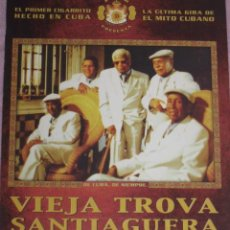 Fotos de Cantantes: QUEX POSTALES MUSICA CANTANTES GRUPOS MUSICALES - POSTAL VIEJA TROBA SANTIAGUERA. Lote 29478800