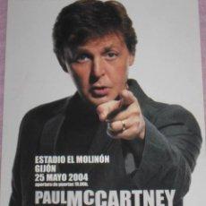 Fotos de Cantantes: QUEX POSTALES MUSICA CANTANTES GRUPOS MUSICALES - POSTAL PAUL MC CARTNEY CONCIERTO 2004. Lote 29478954