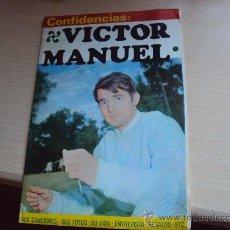 Fotos de Cantantes: VICTOR MANUEL. Lote 30039312