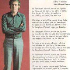 Fotos de Cantantes: JOAN MANUEL SERRAT - 1968. Lote 30232196