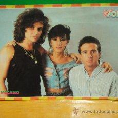 Fotos de Cantantes: POSTAL ADHESIVA SUPER POP Nº 24 - MECANO. Lote 30581436