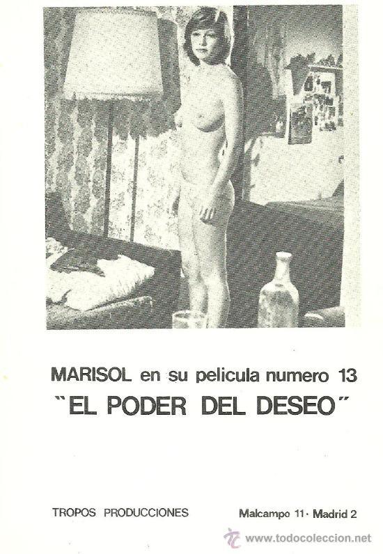 Postal Marisol Pepa Flores Desnuda El Poder Del Vendido En Venta