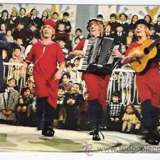 Fotos de Cantantes: POSTAL DE LOS PAYASOS DE LA TELE . Lote 30813049