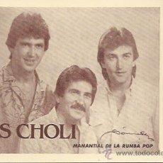 Photos de Chanteurs et Chanteuses: LOS CHOLI. RUMBA POP. Lote 110824550