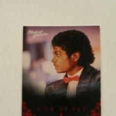 Fotos de Cantantes: MICHAEL JACKSON TARJETA COLECCIÓN PANINI 2011 USA. Lote 32983104