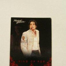 Fotos de Cantantes: MICHAEL JACKSON TARJETA COLECCIÓN PANINI 2011 USA. Lote 32984055